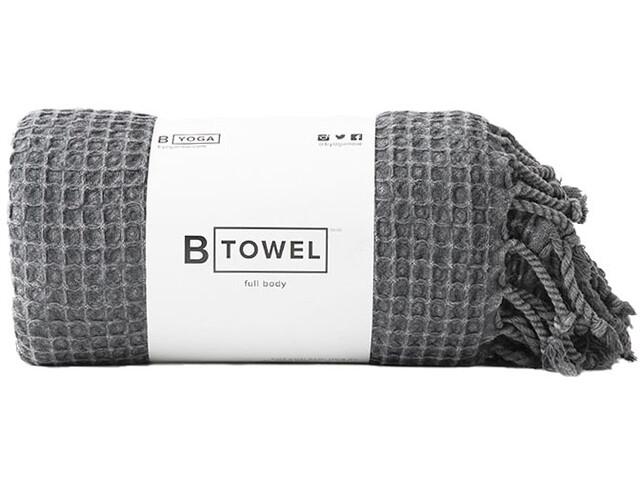 B Yoga B Towel corpo intero, nero
